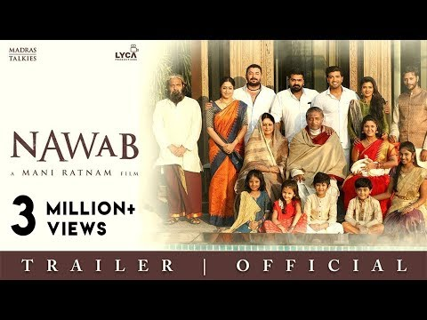 NAWAB | Official Trailer - Telugu | Mani Ratnam | Lyca Productions | Madras Talkies