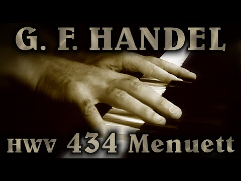 George Frideric HANDEL: Menuett in G minor, HWV 434