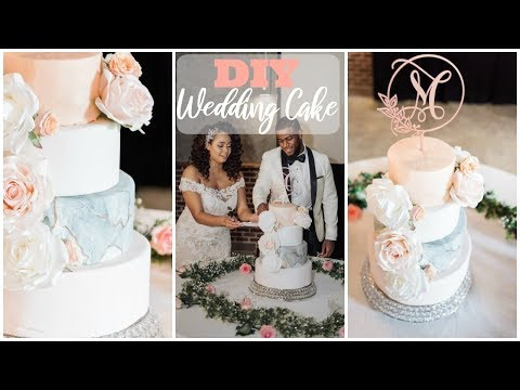 easy-diy-wedding-cake-|-wedding-cake-under-$100
