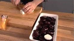 Vuohenjuusto-punajuuret ja rommi-rusinarahka