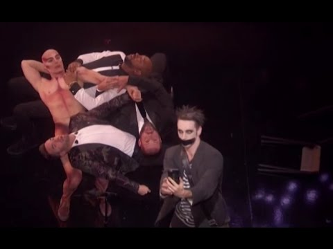 """The Finale   Tape Face Performing """"Lean on me"""" HILARIOUS   America's Got Talent 2016"""