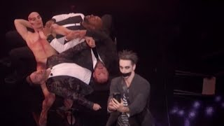 The Finale | Tape Face Performing 'Lean on me' HILARIOUS | America's Got Talent 2016
