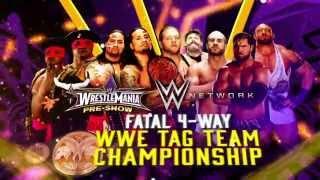 No te pierdas el Pre-Show de WrestleMania 30