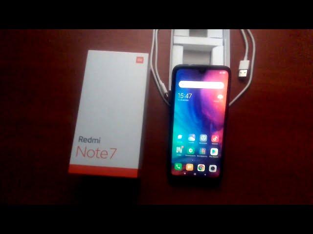 Xiaomi  Redmi Note 7  суперовый смартфон!!!