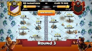 Clan War Leagues - New TH12 Attacks - Clash Of Clans - Round 3 (Season 3)