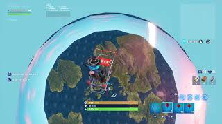 GOING TO SPACE AT FORTNITE! (Read the description to make the bug is amazing!) Fortnite