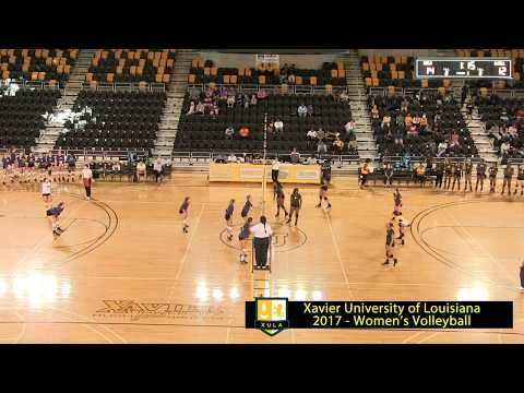 2017-09-07 XULA volleyball vs. Spring Hill