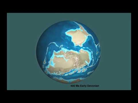Geographic Evolution of the Earth