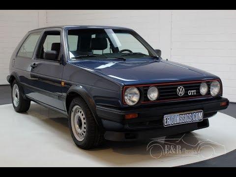 Volkswagen Golf GTI 1988 MK2 -VIDEO- www.ERclassics.com