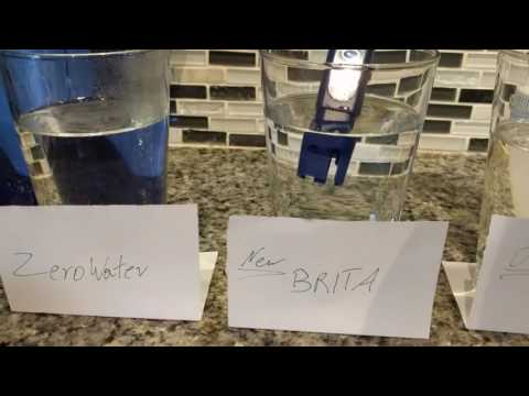 Brita vs Zerowater Water Pitchers