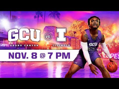 GCU Men's Basketball Vs Illinois November 8, 2019
