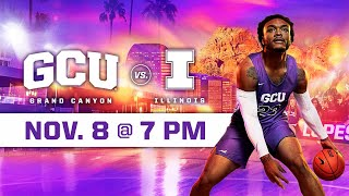 GCU Men's Basketball vs Illinois November 8, 2019