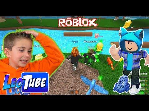 Leo y Mikel en Epic Mini Games en Roblox
