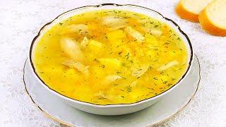 Простой Суп на Каждый День. Потрясающий Лёгкий Суп с Пшеном.