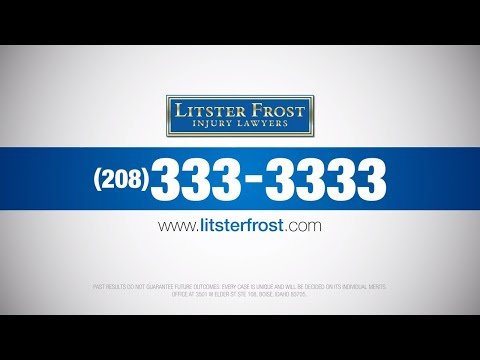 Twin Falls Car Accident Lawyer – 208-333-3333 – Litster Frost Injury Lawyers