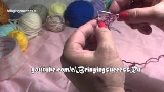 Для начинающих вязать спицами (набор петель и т.п.)