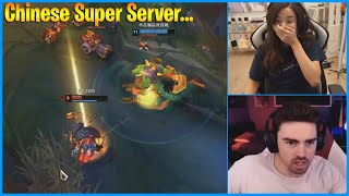 Pokimane Returns To League..SIVHD on Chinese Super Server...LoL Daily Moments Ep 1131