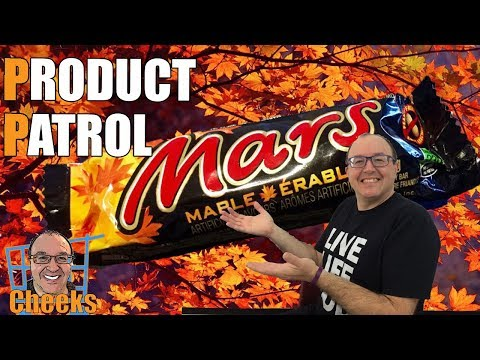 Maple Mars Candy Review: Limited Edition Chocolate Bar