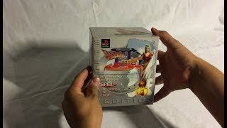 Unboxing PS1  - Breath of fire 3 Collector edition PAL (1998)