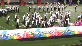 lily s 2016 azle high school homecoming color guard performance
