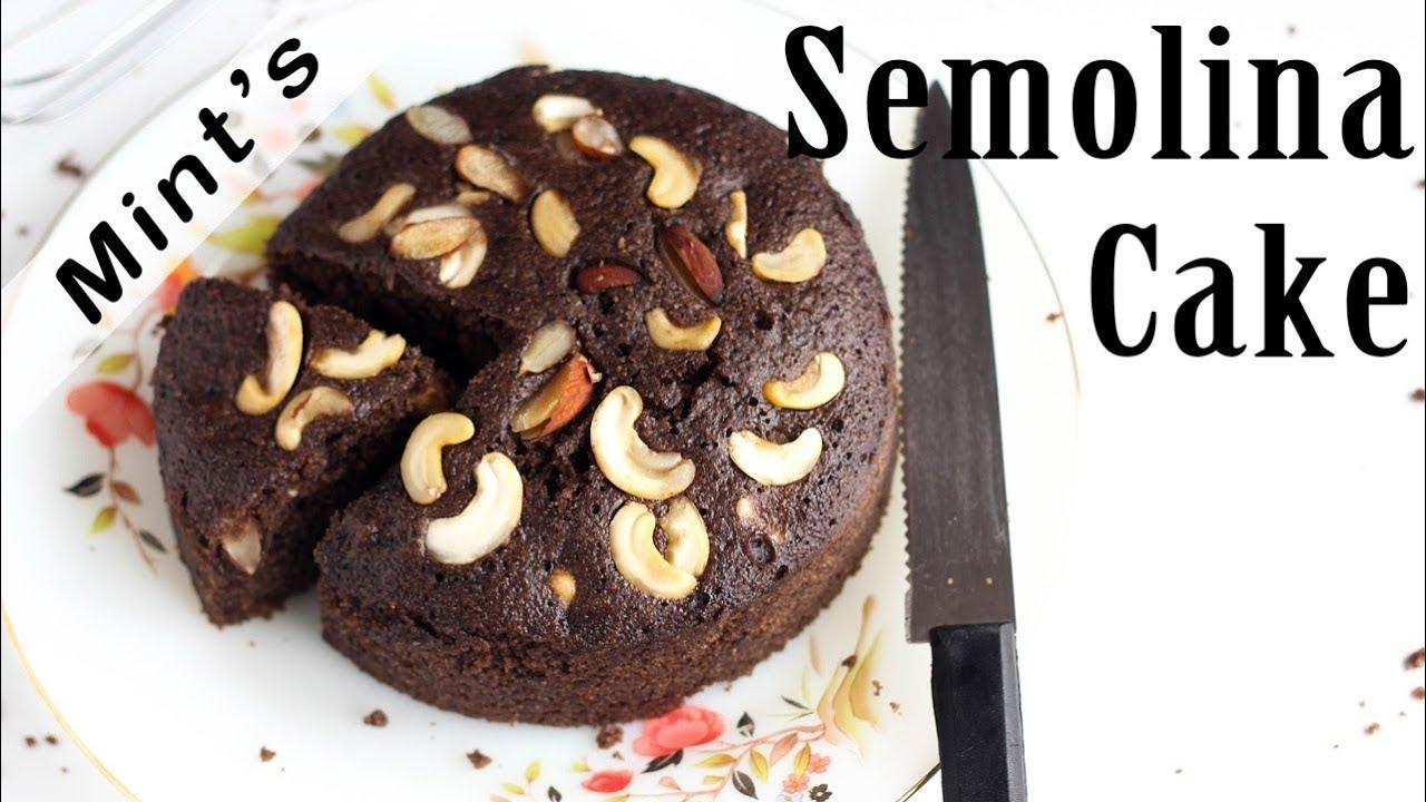 Rava Cake In Pressure Cooker Sooji Cake Recipe Cake