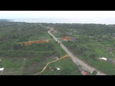 Tournage a kribi par drone sur le site de mr fmonefong@yahoo.fr