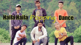 Haila Haila Popping Dance Choreography by Sachin Spidy