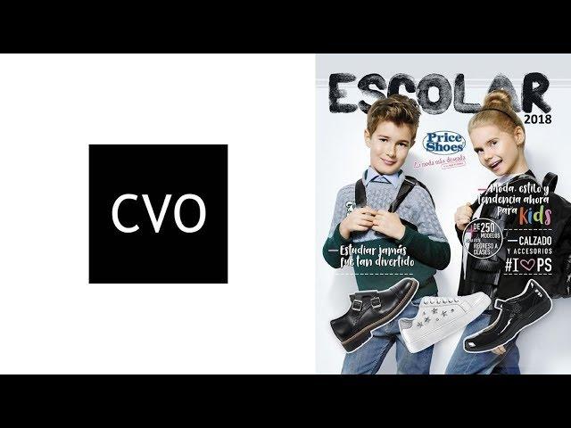 Catálogo Price Shoes Calzado Escolar y Accesorios 2018