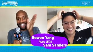 Bowen Yang Talks SNL, Pandemic, and Diversity and with Sam Sanders | It's Been A Minute | NPR