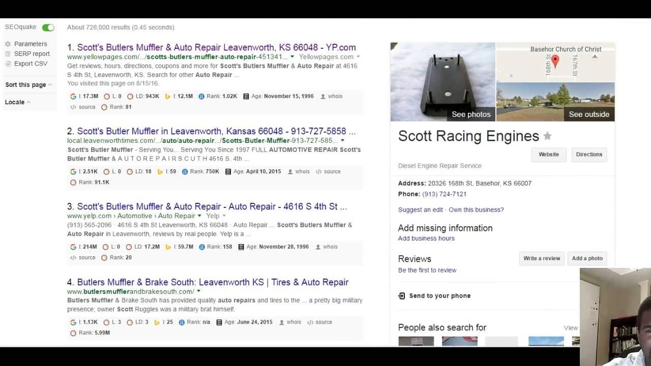 scott s butlers muffler auto repair 913 565 2096 youtube