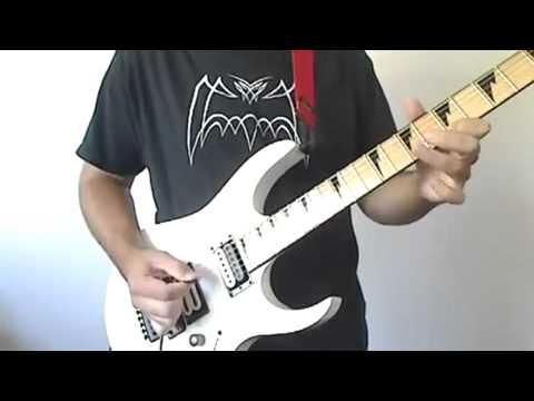 Super Contra Ending on electric guitar Hard Rock Nintendo game cover