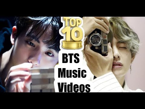 my top 10 bts music videos i think about