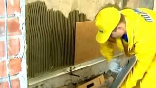 Видео-урок. Укладка плитки на клей и гидроизоляцию Polimin
