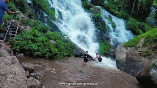 Langvoku Waterfall, Manja |Gospel Music Video Shooting | Karbi Anglong | @Min Singson