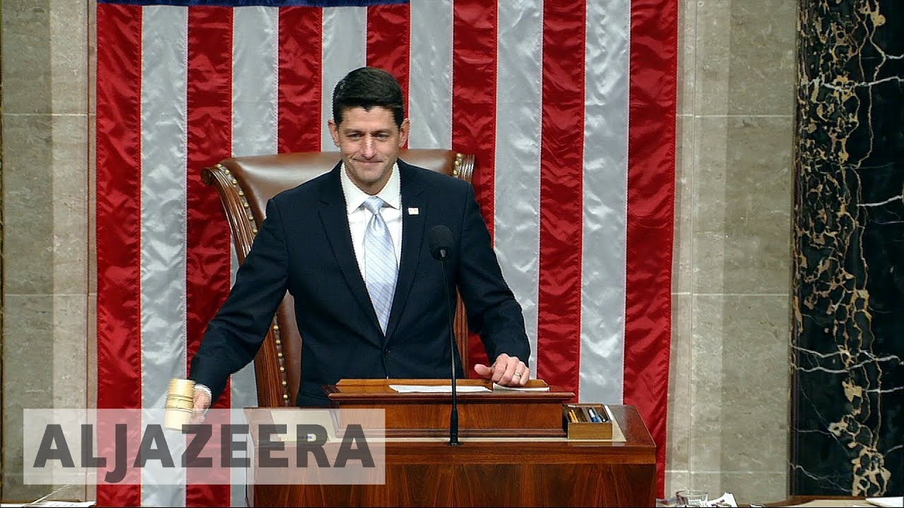 US House approves sweeping tax bill in a win for Trump