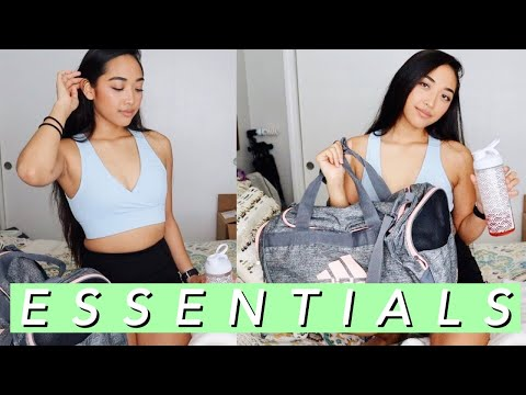 GYM BAG ESSENTIALS | What's In My Gym Bag 2019
