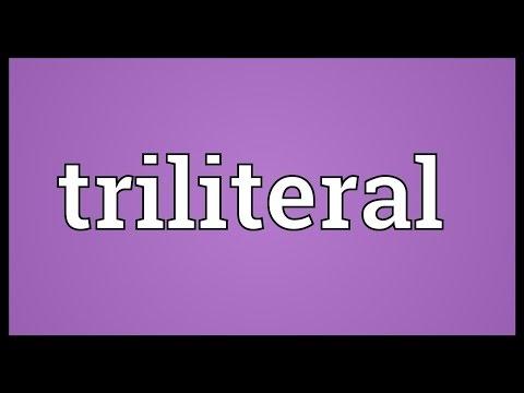 Header of Triliteral