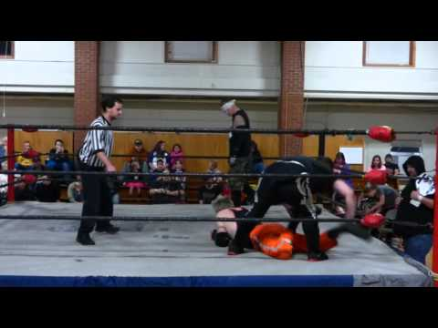 (BAD KOMPANY) LOCKDOWN Vs. TWISTED Vs. Bobby Watson. SCW Zan