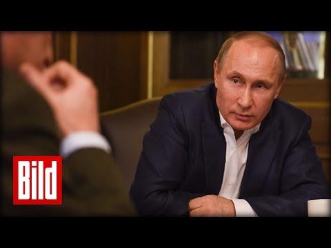 Wladimir Putin über Ost-Ukraine, Assad und die Türkei - Exklusives Interview (2/2)