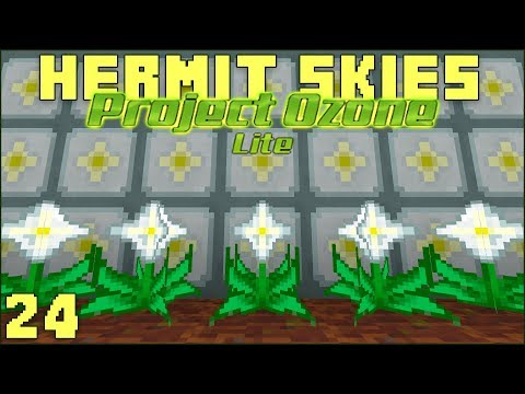 Hermit Skies 24 Nether Star Farming!...