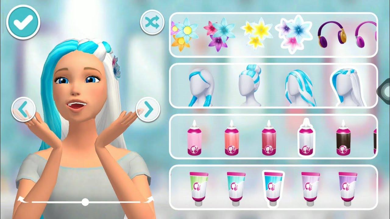 Barbie Memasak Barbie Dandan Barbie Girl Masak Masakan Salon Salonan Youtube