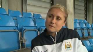 Alex Underwood Interview with Steph Houghton