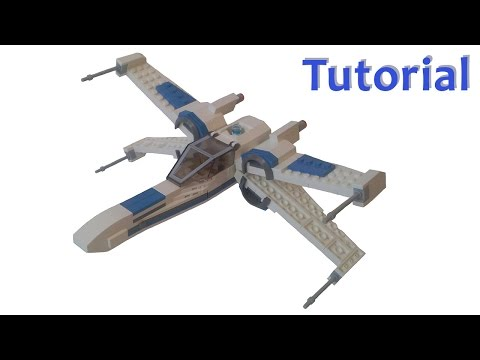 Lego Star Wars Resistance X-Wing Fighter MOC with Tutorial