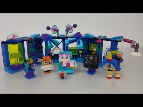 Lego Unikitty Kicia Rożek 41454 Laboratorium Dr Lisiczki Youtube