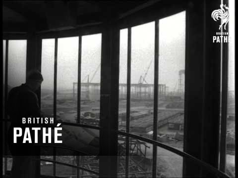 Wylfa Nuclear Power Station Under Construction  (1965)