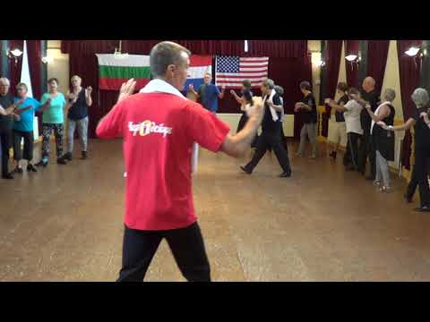 RRUSHJA E LALES Albania Demo 2017 Dance Weekend Netherlands (Dimitar Petrov Mitko & Ira Weisburd)