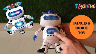 Toyshine Sunshine Dancing Robot with 3D Lights and Music Unboxing and Test Toy Review Fest 11