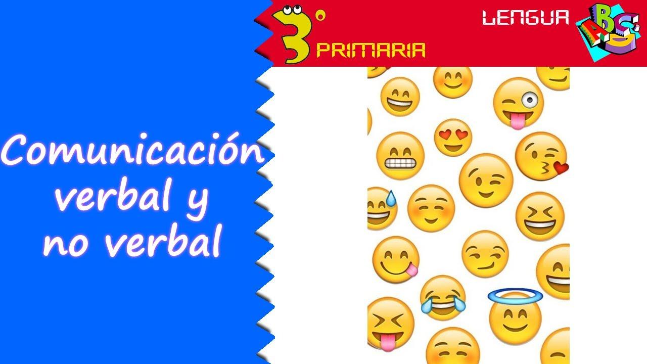 Lengua Castellana 3º Primaria Tema 1 La Comunicación Verbal Y No Verbal Youtube