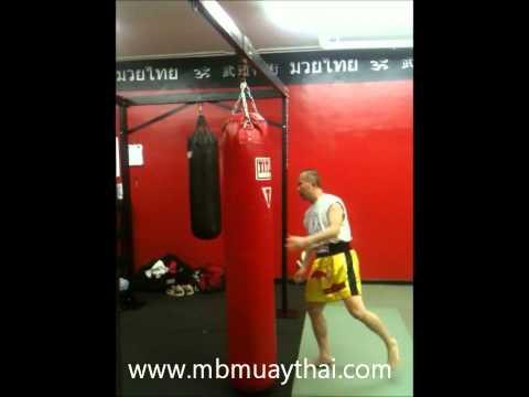 """Muay Thai classes in Manhattan Beach California Ajarn Nelson the """"Boost"""" Muay Thai Kick"""