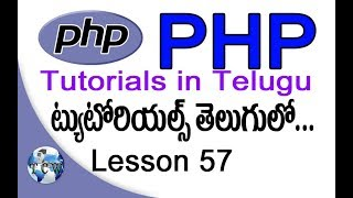 PHP Tutorials in Telugu - Lesson 57 - OOP - Object Oriented Programming